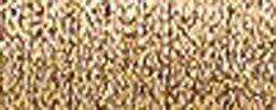 Bulk Buy: Kreinik Metallic Tapestry Braid #12 10 Meters (11 Yards) Antique Gold T-221 (3-Pack)