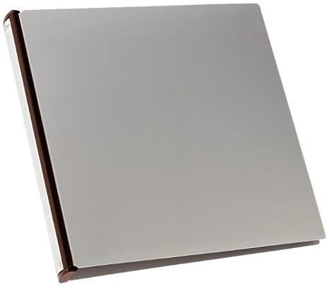 Durable - Archivador de anillas con fundas para CD/DVD 322 x 322 x 40 mm 630 g , color gris/negro: Amazon.es: Oficina y papelería