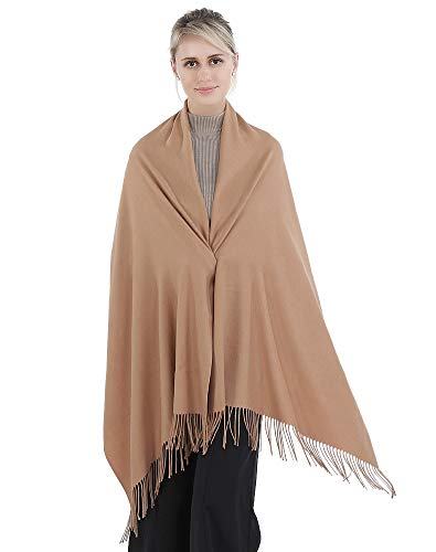 FANGYING Women's Soft Pure Color Pashmina Shawl Wrap Scarf New 3