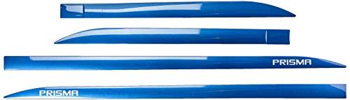 Jogo Frisos Laterais Slim, Flash Acessórios, Prisma Azul Infinity (04 Peças)
