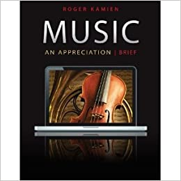 roger kamien music an appreciation 7th edition