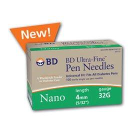 BD Ultra-Fine Pen Needles Nano