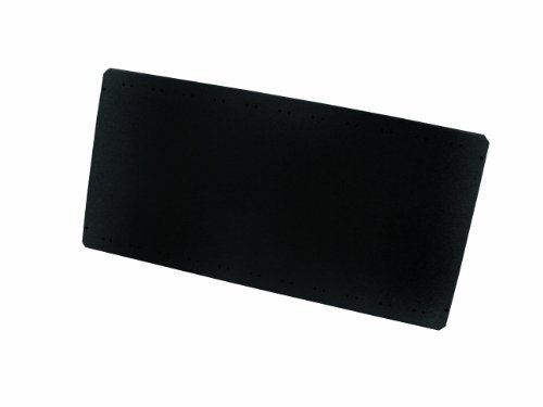 Equipto 6241 V-Grip 18-Gauge Heavy Duty Steel Additional Solid Shelf, 440 lbs Capacity, 48 Width x 18 Depth, Black