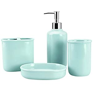 31B2VxbFw%2BL._SS300_ 70+ Beach Bathroom Accessory Sets and Coastal Bathroom Accessories 2020
