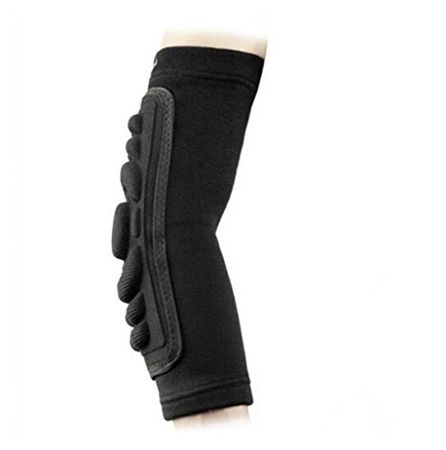 Movement Padded Arm Sleeves (1 Pair) Men, Women & Youth Compression Basketball Shooter Sleeve - Offers Best Elbow Warmers & Forearm Protection for Football, Running, Volleyball & Athletic Contact Sports