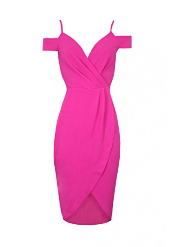 Fuchsia Paris AX Around Wrap Women's Dress FXgwqX