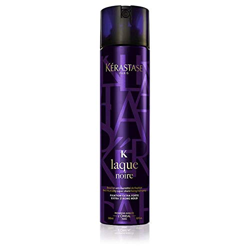 Kerastase K-Laque Noire Extra-Strong Hold Hair Spray for Unisex, 10 Ounce