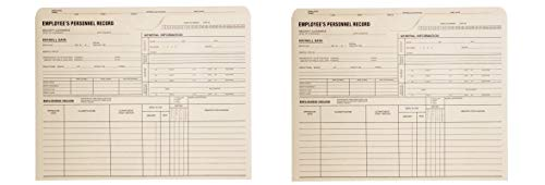 (Quality Park Personnel Record Jacket, Flat Expansion, 9-1/2 x 11-3/4 Inches, 100 per Box (QUA69999) (Pack of 2))