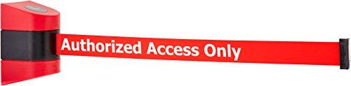 24 No Custom Yellow Webbing//BlackCaution Do Not Enter Standard Belt End Tensabarrier 897-24-S-21-NO-YAX-C Standard Wall Mount Red Caps