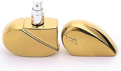 bouteille datomiseur de parfum rechargeable bouteille de parfum en forme de coeur Bouteille de parfum de 25 ml pulv/érisateur de bouteille vide bouteille datomiseur de parfum