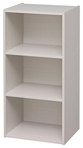 Modular Dvd (IRIS 3-Cube Modular Storage Box, Waku Series, White)