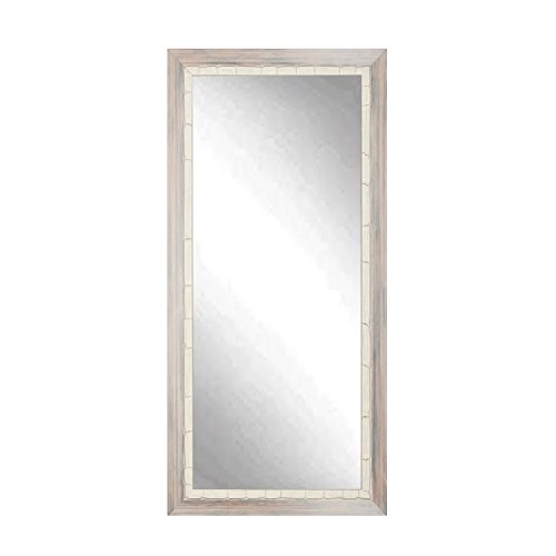 BrandtWorks BM023TS Weathered Beach Floor Tall Vanity Wall Mirror, 32