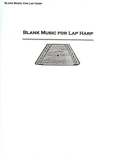 picture regarding Free Printable Lap Harp Sheet Music called Preset of Blank Lap Harp Tunes Sheets