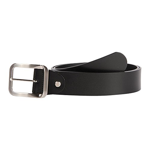 35-36 Affilare Men's Genuine Italian Leather Dress Belt 40mm Black 12ST40BK from Affilare