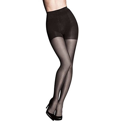 Maidenform Sweet Nothings Shaping Sheers Pantyhose Medium Black Firm Control High Waist (Medium 5'4