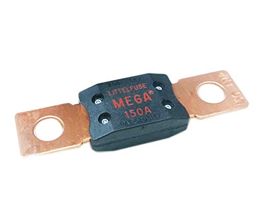New Littelfuse 0MEG150.XP MEGA BP Slo-Blo Automotive Bolt-Down Fuse Free Shipp