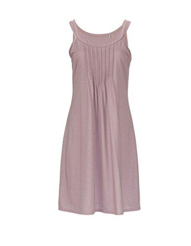 RÖSCH Femmes Chemise de nuit 1163652 Wellness loungewear taupe 38