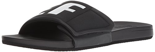 Tongs Bio Logo Reef Cushion White Black Homme Noir Slide Bounce Hq8tz