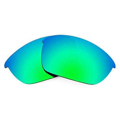 Revant Replacement Lenses for Oakley Half Jacket 2.0, Polarized, Emerald Green - Polarized Precision Lenses Green