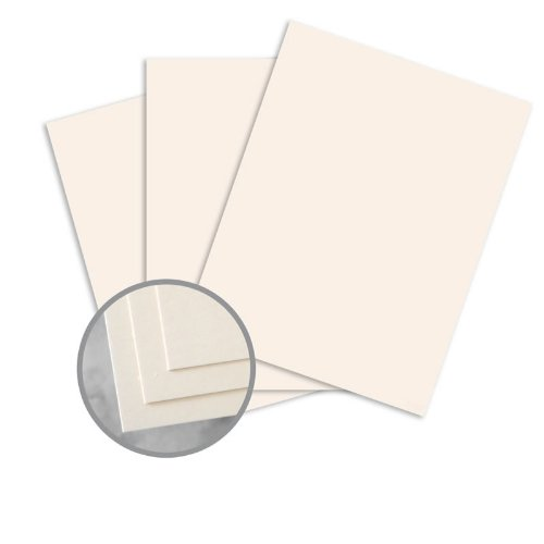 CLASSIC CREST Classic Cream Paper - 8 1/2 x 11 in 24 lb Writing Smooth Watermarked 500 per Ream by Neenah Paper CLASSIC CREST