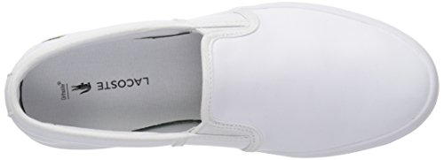 Lacoste Womens Gazon Fashion Sneaker White