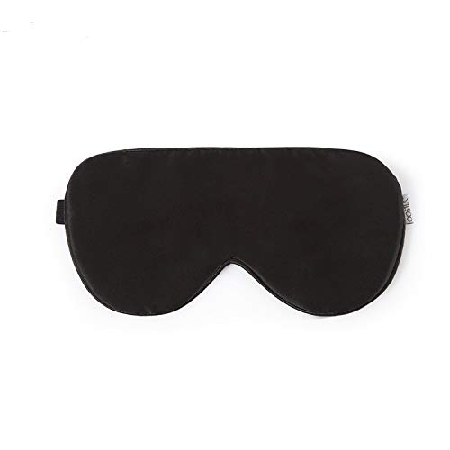 HC-T Natural Silk Sleep Mask, Blindfold, Super Smooth Eye Mask (One Strap)