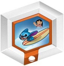- Disney Infinity Series 2 Power Disc Hangin' Ten Stitch with Surfboard [10 of 20] by Disney Infinity