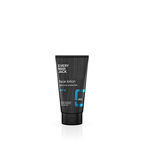 Neutrogena Triple Protect Face Lotion - Every Man Jack Daily Sun Protection Face Lotion, SPF 20, 2.5-ounce