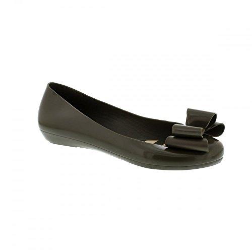 Zaxy Pop Bow Damen Ballerinas Flache Schuhe Flats Slipper Grosse Schleife Schwarz 5 (38) LUYzY0Sf