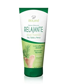 Amazon.com: Organic Relieving Reactivating Foot, Ankle and Leg Balm 7.4 fl.oz. | Bálsamo Orgánico Refrescante Relajante Reactivante para Pies, ...