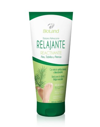 Organic Relieving Reactivating Foot, Ankle and Leg Balm 7.4 fl.oz. | Bálsamo