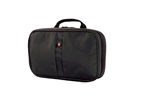 - Victorinox Zip-Around Travel Kit, Black Logo