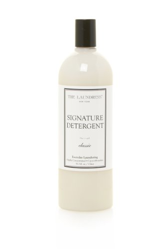 The Laundress - Signature Laundry Detergent, Classic, Preserves Color, Fights Stains, 33.3 fl oz, 64 - Silk Set Soap