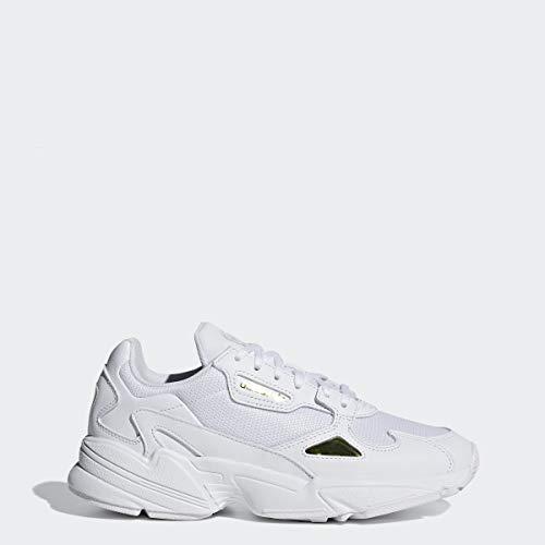 adidas Falcon Shoes Women's, White, Size 8.5