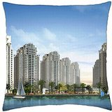 Creek_Marina_Sea View_Karachi - Throw Pillow Cover Case (18