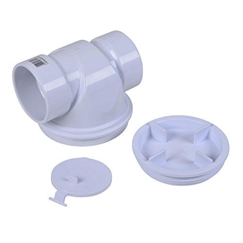 Oatey 43900 PVC Backwater Valve, 3-Inch