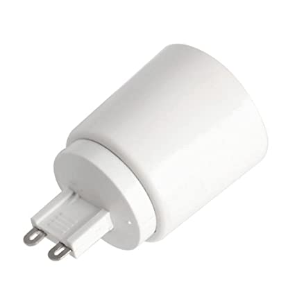 YiLighting - (G9 to E26/E27), G9 Plug-in Base to E26/27 Edition Screw Base Socket Converter For Halogen/LED/CFL Light Bulbs (3 Pack) - - Amazon.com