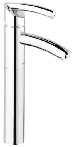 Grohe Vessel Pop Drain Up (GROHE 32 425 000 Tenso Deck Mount Vessel Faucet, Chrome)