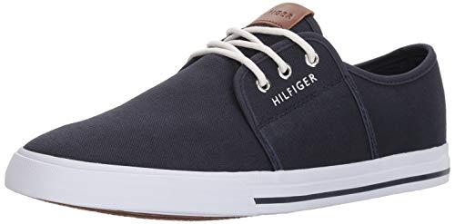 Tommy Hilfiger Men's Pala Sneaker, Navy, 11.5 Medium US