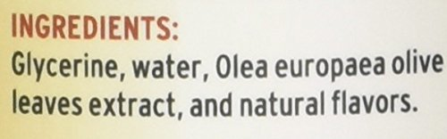 Barlean's Organic Oils Olive Leaf Complex Peppermint Flavor, 16-Ounce Bottle