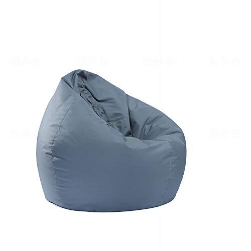 Aoile Saco de sofá de Color Liso Oxford, puf Grande (Relleno no Incluido), Relleno de Espuma Impermeable para Muebles...