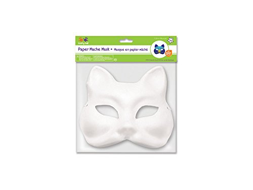 MultiCraft MULKC260.D DIY Paper Mache Mask with Band Fox]()