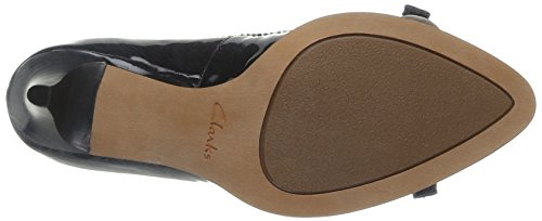 Clarks Pumps Bombay Schwarz Black WoMen Pat Ancient qxq7rwOnz