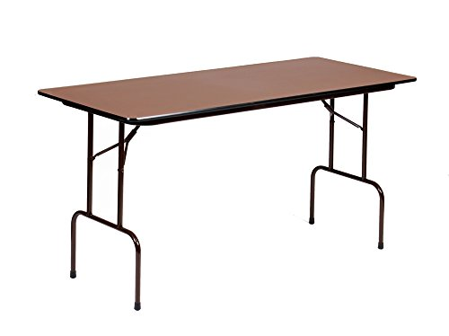 Correll CFS3072PX Pastic Standing Height High Pressure Top Folding Table, Rectangular, 30