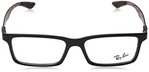 Ray Ban Optical Montures de lunettes RX8901 Shiny Black, 53mm 2000: Shiny Black