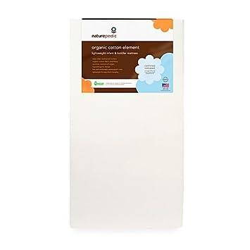 Amazon Com Naturepedic Organic Cotton Element Baby Crib Toddler