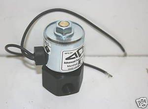 Model 123 - Advanced Fuel Components Propane 12 Volt Fuelock, Lock Off Valve 90 Degree
