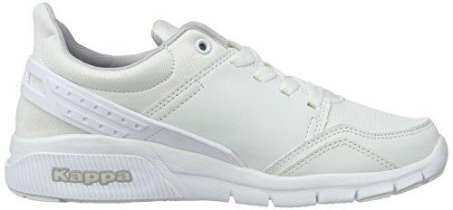 Kappa York - Zapatillas Unisex adulto Blanco - Weiß (1010 White)