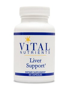 Vital Nutrients Liver Support - 60 Capsules