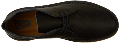 Clarks Mens Desert Boot in Navy Tumbled Leather